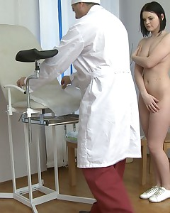 Gyno examination turns into a avid fucking